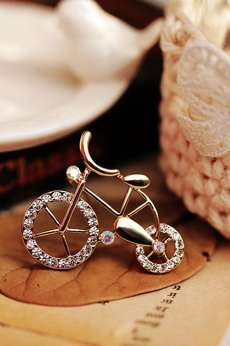 bycicle brooch