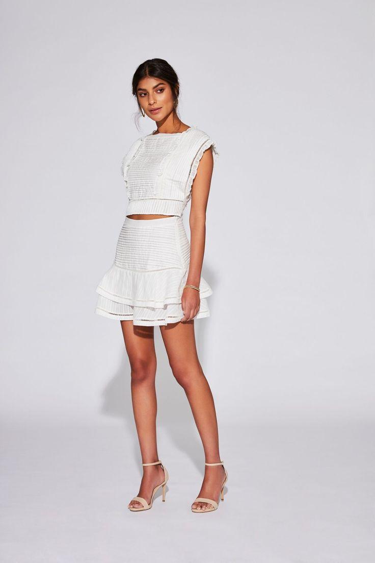 ciel layered mini skirt ndash sir the label mini skirts layered