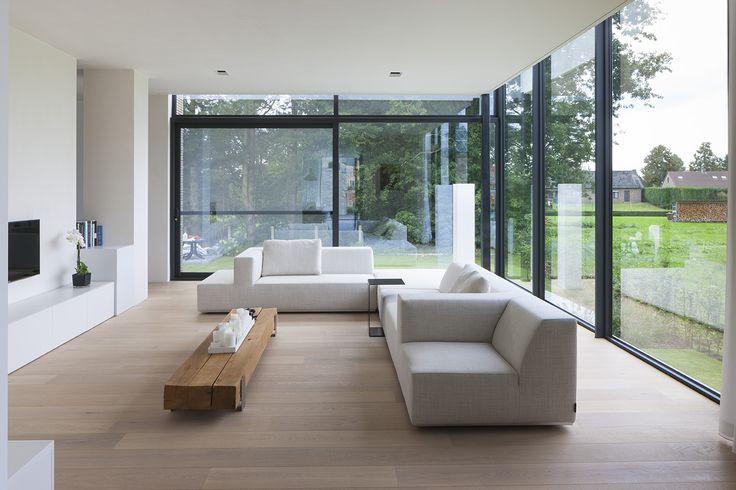 LV-architecten - woning te Oud-Turnhout - © foto's Liesbet Goetschalckx