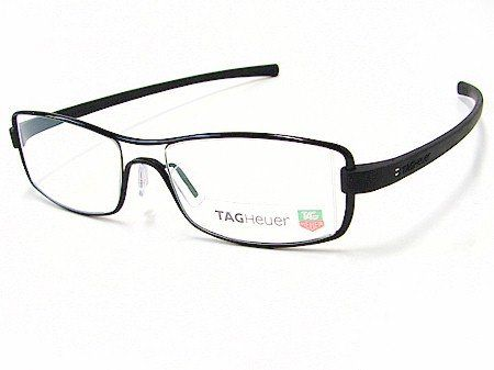 Eyeglasses Frame Tag Heuer : New Tag Heuer TagHeuer 7001 Track 001 Black Optical Frame ...