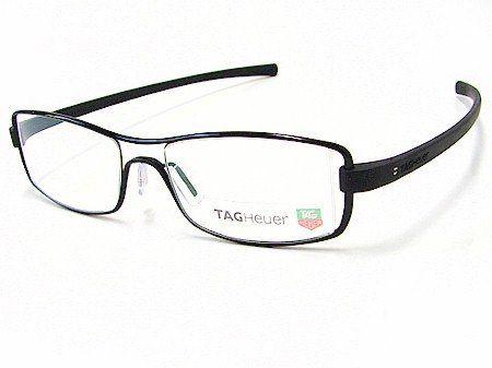 Eyeglasses Frame Tag Heuer : New Tag Heuer TagHeuer 7001 Track 001 Black Optical Frame ...