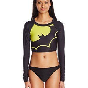 Rashguard Lycra Baño de Batman para Mujer