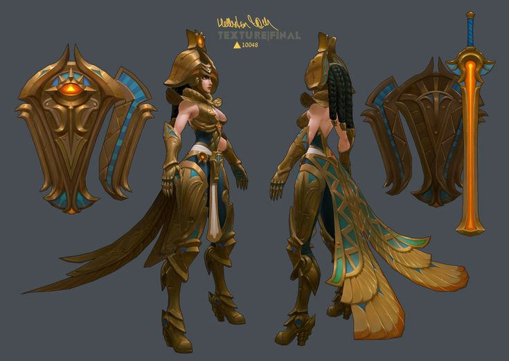 [Riot Art Contest] Daughter of the Sun Leona - Page 4 - Polycount Forum
