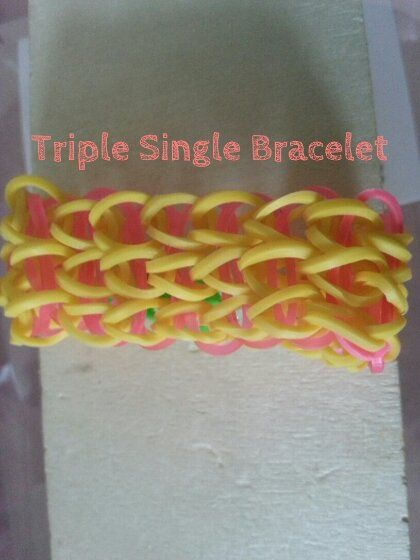 triple single made by my daughter