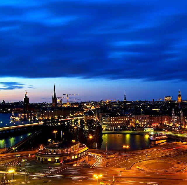 Noční podívaná ve Stockholmu č.1