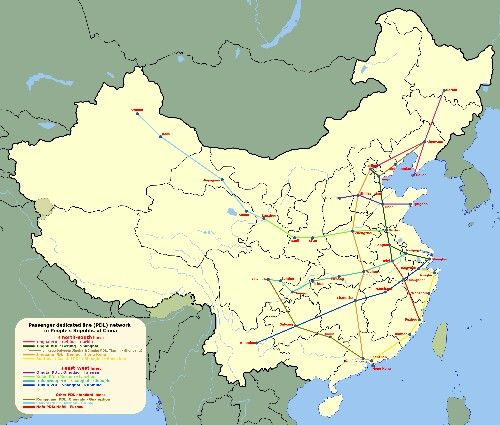 Trains in China