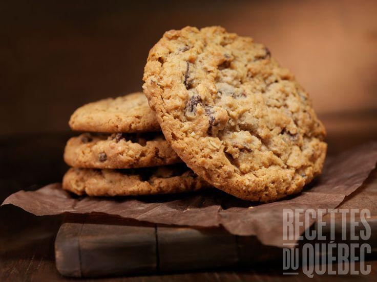Galettes au gruau santé #recettesduqc #biscuit #collation