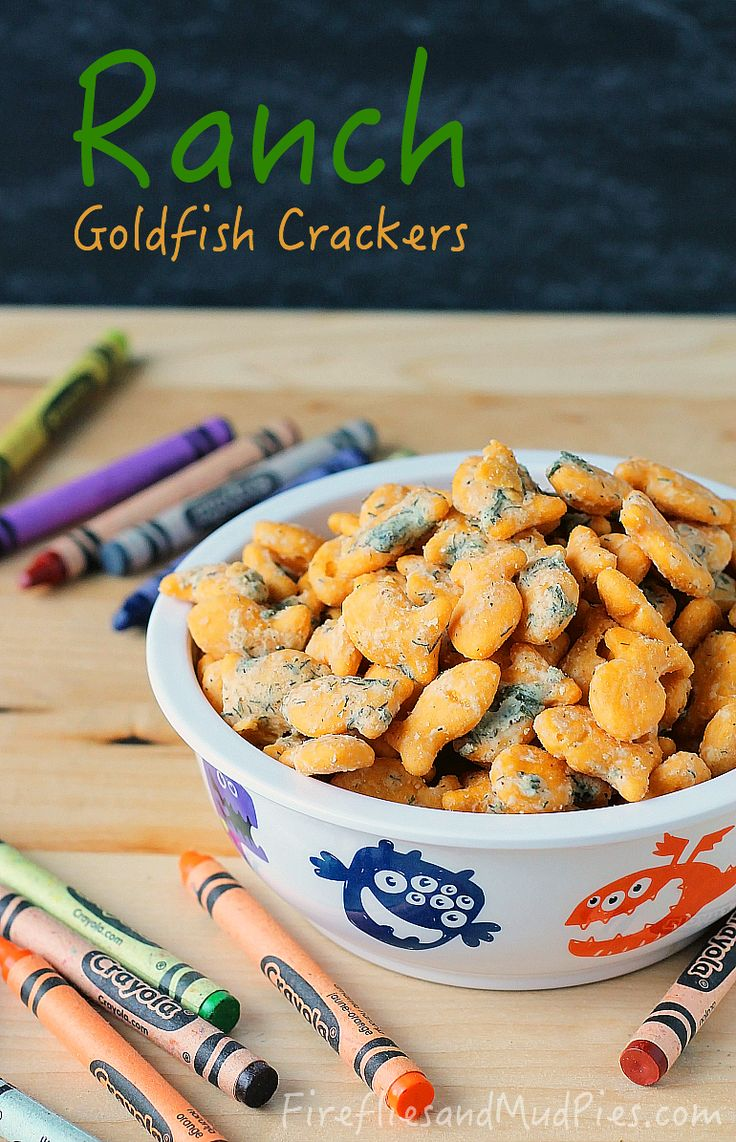 how to make goldfish food
