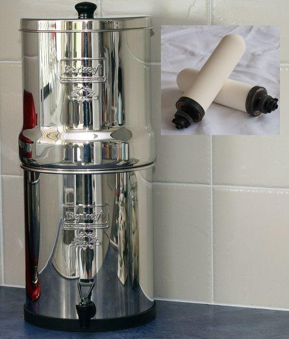 Big Berkey with White Ceramic Filtration Elements