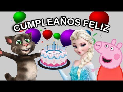 ❤️ Canción de CUMPLEAÑOS FELIZ My little pony ❤️ PONYS -Infantil tradicional para dedicar NIÑOS - YouTube