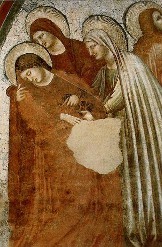 Пьетро да Римини. Распятие (фрагмент; ок. 1320). Национальный музей Равенны.