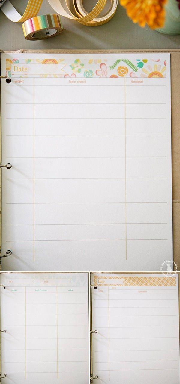 planejador livre 2.016 - a casa handmade