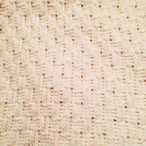 かぎ針で編む バスケット模様のブランケットの作り方 編み物 編み物・手芸・ソーイング 作品カテゴリ ハンドメイド・手芸のレシピ、作り方ならアトリエ