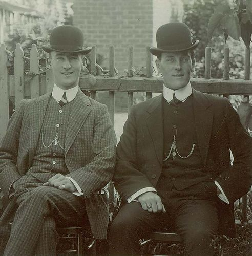 Random Fact: It is known as a Bowler hat in England but is commonly called the Derby in the United States. Beloved by both bankers and city gents, the Bowler/Derby was originally invented for English gamekeepers in about 1849. The gamekeepers had, until then, worn a Top Hat which was easily knocked off by low branches thus damaging the hat.