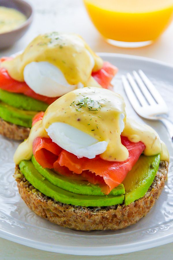 Learn how to make restaurant quality Smoked Salmon and Avocado Eggs Benedict!