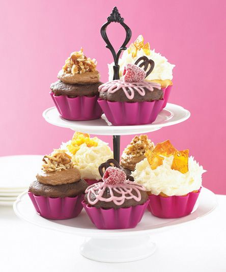 2-Tier Cupcake Stand by Wildly Delicious. Put your cupcakes on a pedestal with this chic 2 tier cake stand. #961110 $19.99 SOLD OUT www.lambertpaint.com