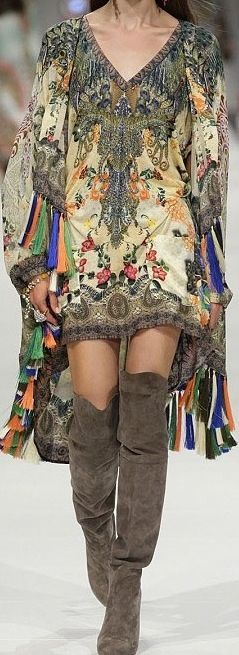 Camilla Franks | I wish the tassels were the same color as the boots...