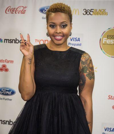 Chrisette Michele Haircut 2012
