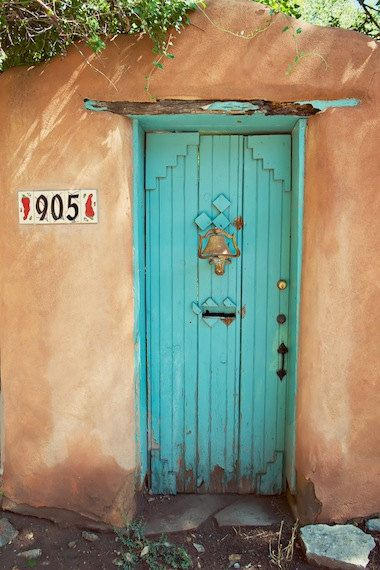 the turquoise door is a must