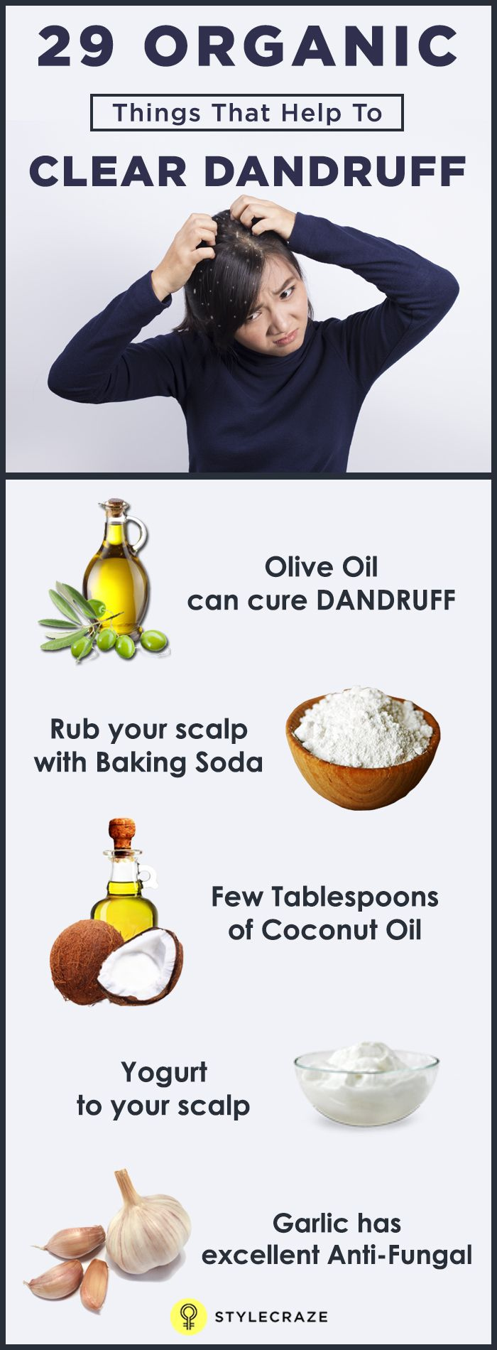 Dandruff is not a petty problem that can be ignored. At the same time, it is not so big a problem that it can't be solved. Before going any further with this post, consider this.