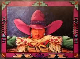 Doreman Burns painting, Corrales NM( he was our neighbor)
