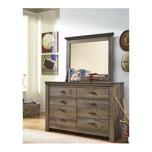 Found it at AllModern - 8 Drawer Dresser with Mirror
