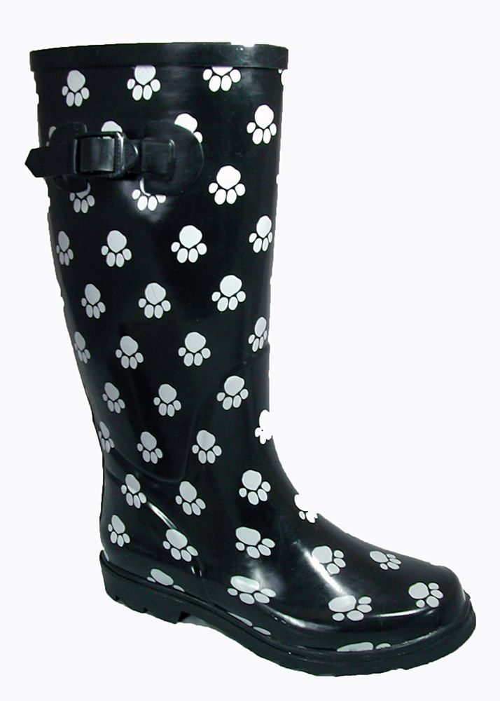Cotswold Dog Paw Ladies Wellington - Robin Elt Shoes  http://www.robineltshoes.co.uk/store/search.asp?keyword=wellington #Festival #Wellies #FestivalWellies #Wellington #WellingtonBoot #UK #Funky