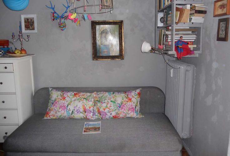 moja sypialnia, wszystko w jednym pokoju 16m