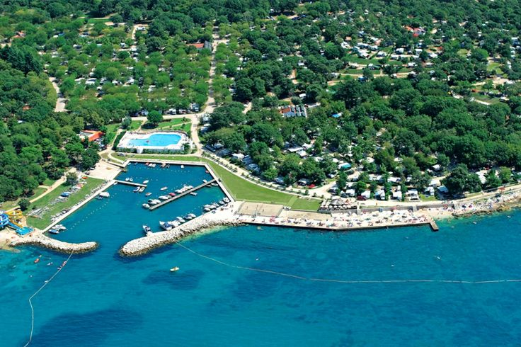 Avio shot of our camping Zelena Laguna! #summer #camping #camp #nature #vacation #Porec #Istria #Croatia