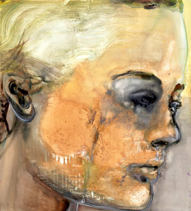 Sad Romy, 2008 by Marlene Dumas (South Africa)