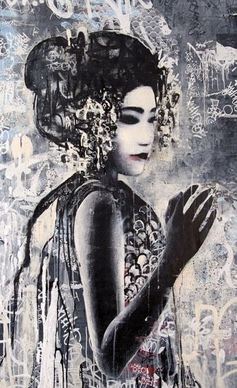 Hush, UK graffiti artist