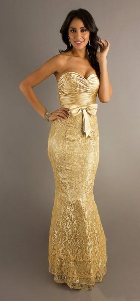 Pin On Gold Dresses