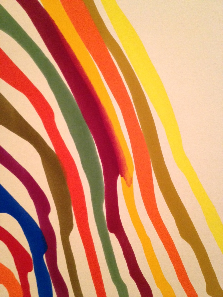 A favorite by Morris Louis