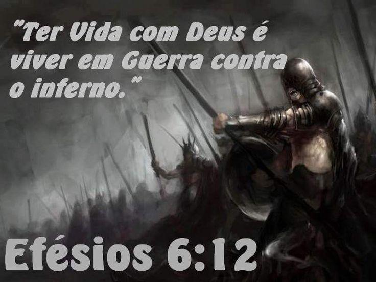 Efésios 6:12  Mas confiante que em todas elas SOMOS mais q vencedores, por meio DAQUELE q nos amou.
