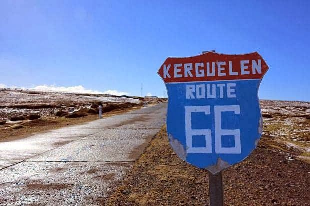 Route 66 ~ Kerguelen (France).