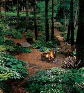 Backyard Fireplace | Gardening Guide | Outdoor Fire Pits � Country Woman Magazine