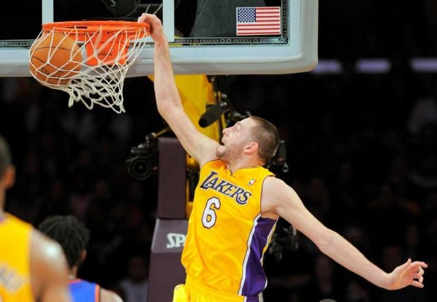 Josh McRoberts Los Angeles Lakers NBA Basketball
