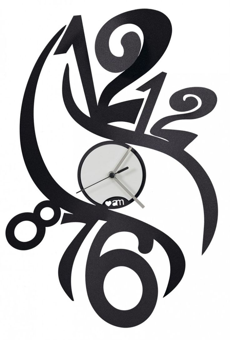 Zegar ścienny FENICE Czarny - Arti&Mestieri - DECO Salon #clock #wallclock #giftidea