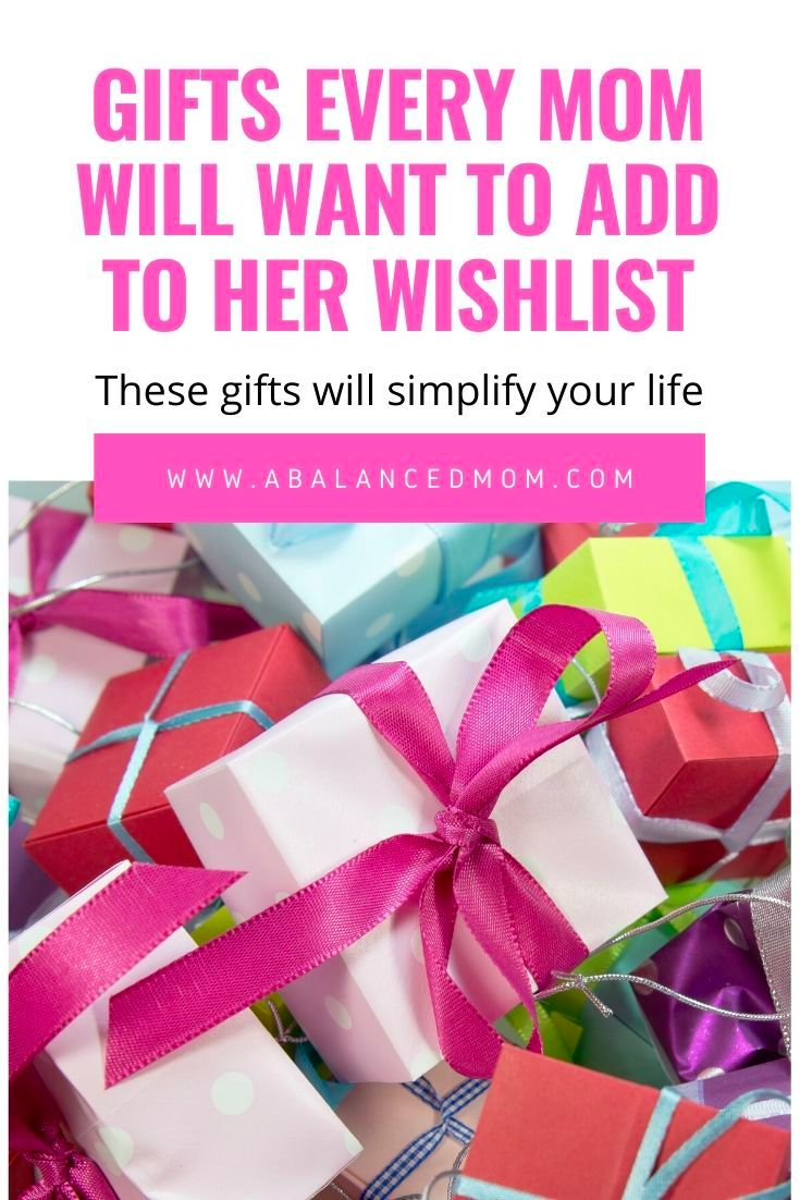 Gift ideas for busy moms and gift ideas for busy women
