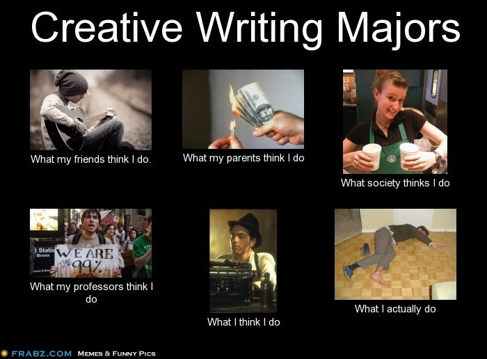 What is a creative writing major