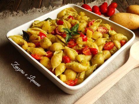 pasta e patate estiva -