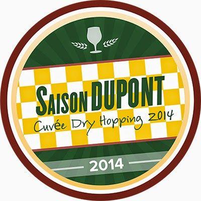 "New Untappd Badge ""Saison Dupont Cuvee Dry Hopping"""