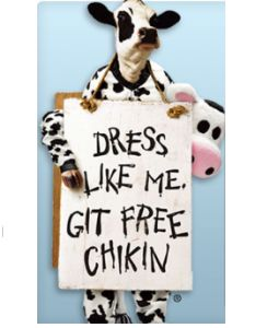 FREE Meal at Chick-fil-A for Cow Appreciation Day on 7/14 on hunt4freebies.com