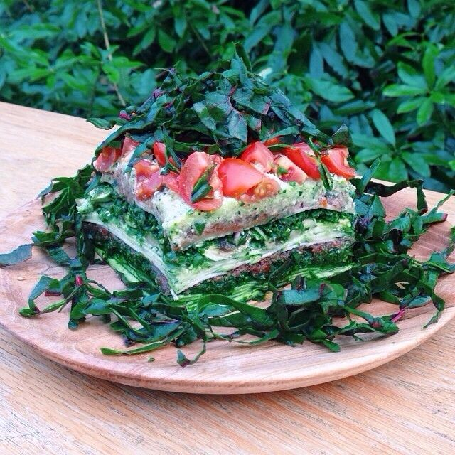"(feedfeed.info): ""..raw vegan lasagna for dinner..contained zucchini ..."