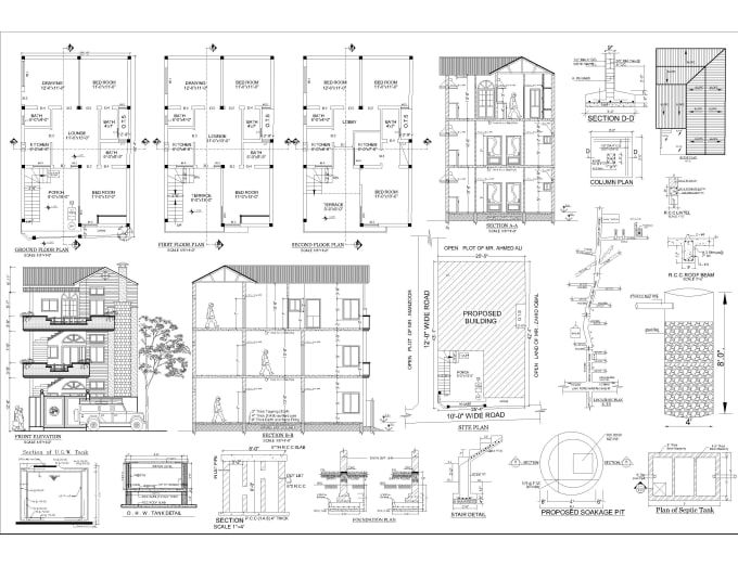 Convert Pdf Sketch Or Image Drawing To Autocad Interior Design