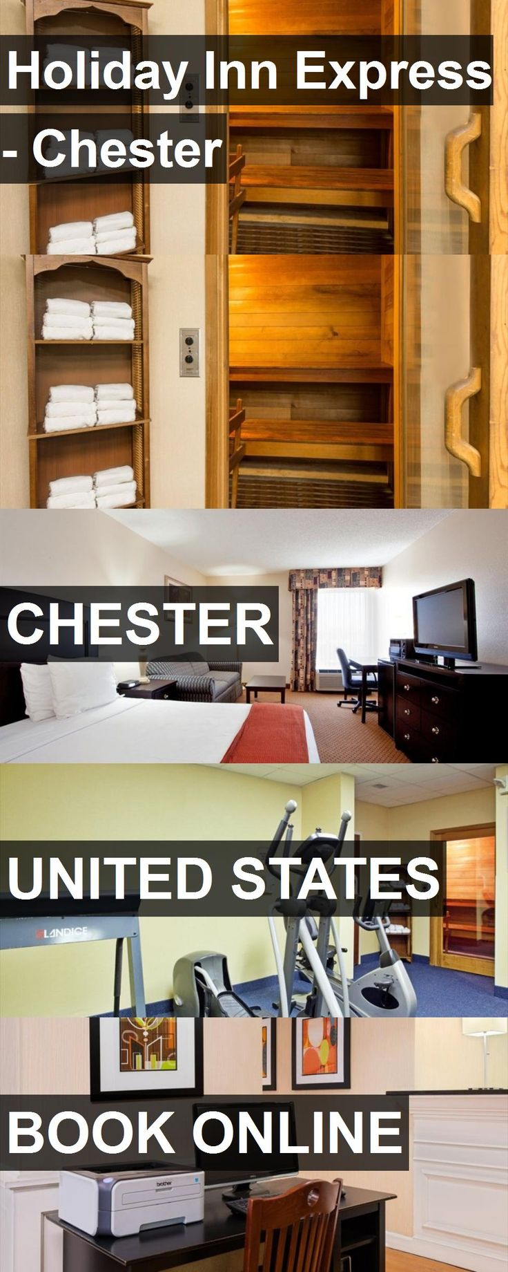 Hotel Holiday Inn Express - Chester in Chester, United States. For more information, photos, reviews and best prices please follow the link. #UnitedStates #Chester #HolidayInnExpress-Chester #hotel #travel #vacation
