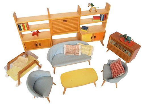 Vintage-enfant-design-kids-salon-poupee-doll-furniture