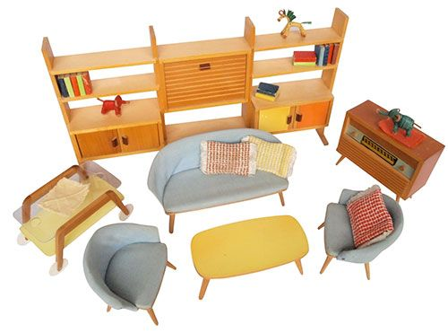 doll furniture | mid century kids design