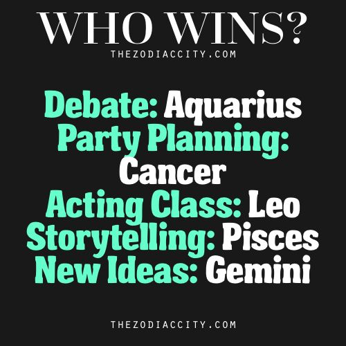 When it comes to the zodiac, all signs possess particular and distinctive personality traits that will help them in certain areas of life. One may be better at coming up with new ideas quicker or more efficiently or one may have an easier time...