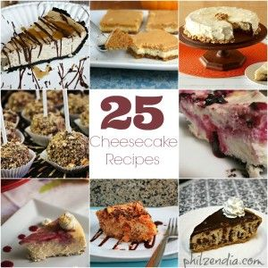 25 Cheesecake Recipes You Have To Try